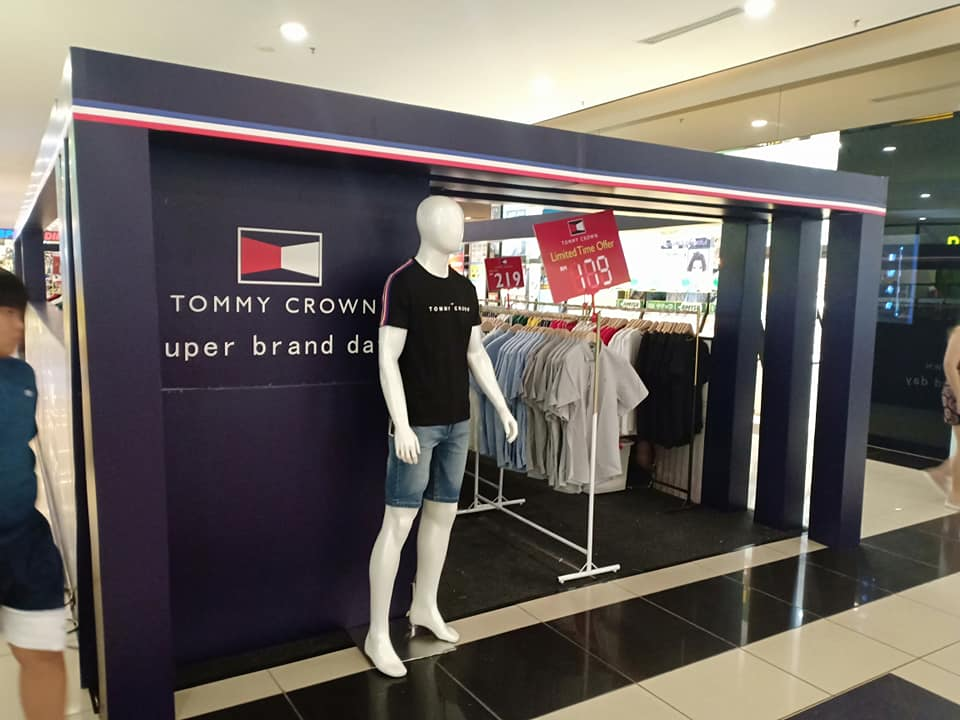 Tommy Crown Apparels Promotion