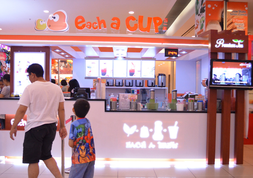 Each-A-Cup Bubble Tea