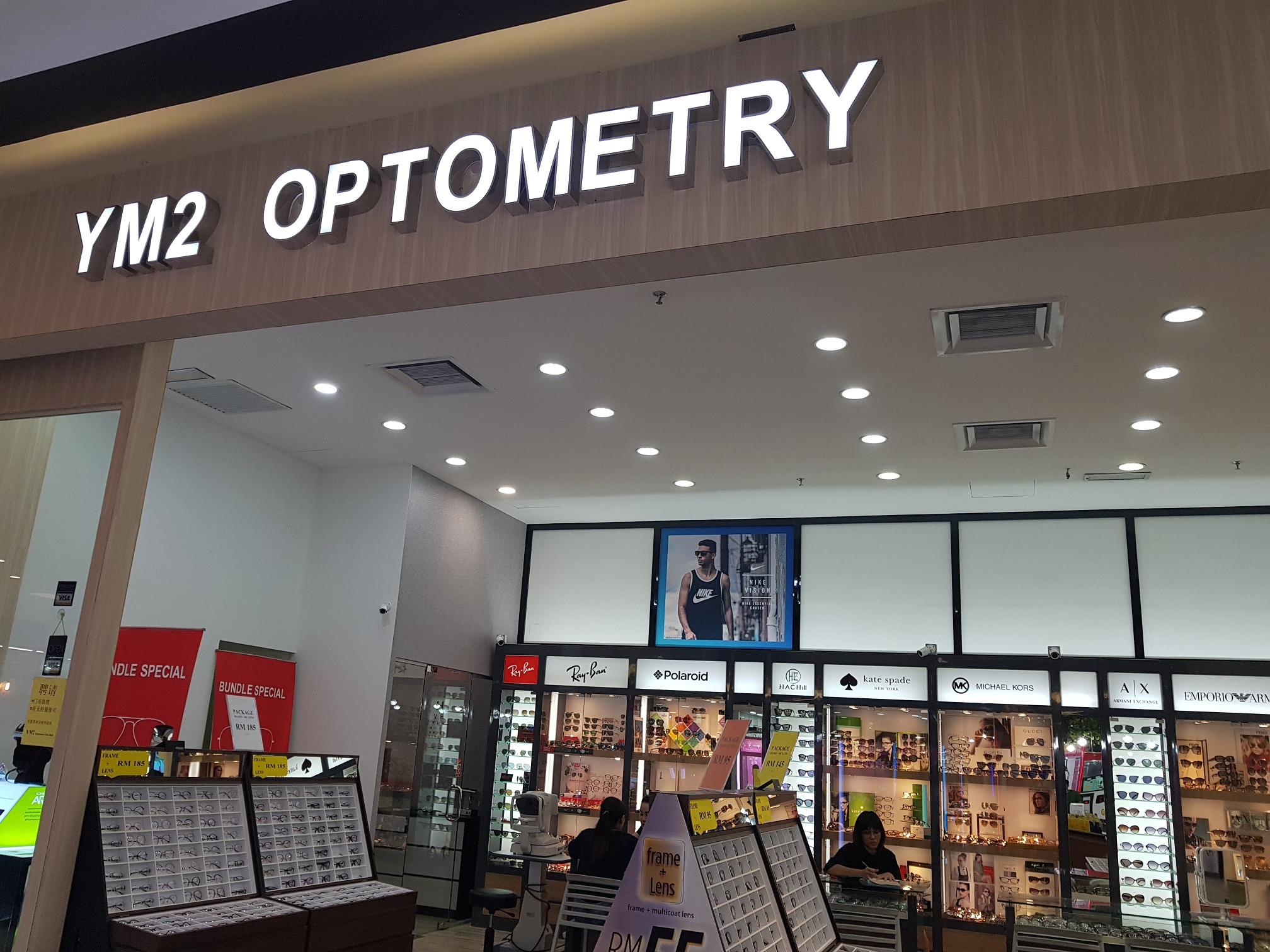 YM2 Optometry S/B