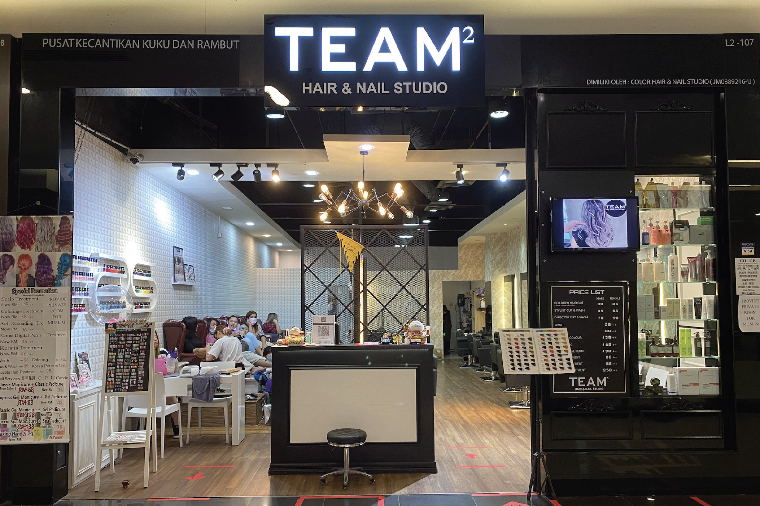 Team 2 Hair & Nail Studio